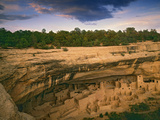 Ruins of Cliff Palace Built by Pueblo Indians, Mesa Verde National Park, Colorado, USA Photographic Print by Dennis Flaherty