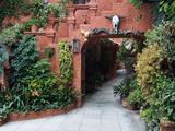 Villa Entrance to Garden, San Miguel De Allende, Mexico Fotografie-Druck von Nancy Rotenberg