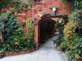 Villa Entrance to Garden, San Miguel De Allende, Mexico Photographic Print by Nancy Rotenberg