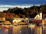 Our Lady Queen of Peace Catholic Church, Boothbay Harbor, Maine, USA Photographic Print by Jerry &amp; Marcy Monkman