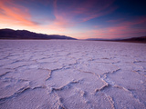 Pressure Ridges in the Salt Pan Near Badwater, Death Valley National Park, California, USA Photographic Print by Darrell Gulin