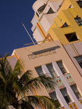 Art Deco Design of Cavalier Hotel, South Beach, Miami, Florida, USA Photographic Print by Nancy & Steve Ross
