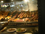 Charcoal Grill in Restaurant El Palenque, Mercado Del Puerto, Montevideo, Uruguay Photographic Print by Per Karlsson