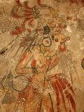 Maya Mural, San Bartolo, Guatemala Fotografisk tryk af Kenneth Garrett
