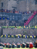 Participants in Annual Inti Raimi Festival That Celebrates Ancient Inca Ritual, Cusco, Peru Lmina fotogrfica por Jim Zuckerman