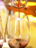 Chakanaka Wine in Decanter, Restaurant Red at Hotel Madero Sofitel, Puerto Madero Photographic Print by Per Karlsson