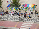 Aerial View of Ipanema Beach, Rio De Janiero, Brazil Photographic Print by Stuart Westmoreland