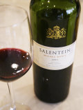 Salentein Malbec Roble Oak, Restaurant in Sheraton Hotel, Valle De Uco, Mendoza, Argentina Photographic Print by Per Karlsson