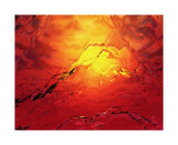 Red Hot Ice Collectable Print by  Menaul