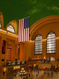 Interior View of Grand Central Station, New York, USA Photographie par Nancy & Steve Ross