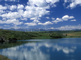 Wind Energy Development, Montana, USA Photographie par Diane Johnson