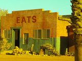Abandoned Desert Eatery, Sloan, Nevada, USA Photographic Print by Nancy & Steve Ross
