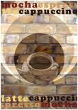 Mocha Espresso Plakater av Kelvie Fincham