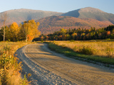 Valley Road in Jefferson, Presidential Range, White Mountains, New Hampshire, USA Photographic Print by Jerry & Marcy Monkman