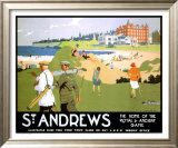 LNER, St. Andrews, c.1920 Prints by Henry George Gawthorn