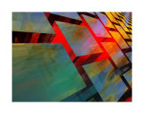 Glass Cubed Collectable Print by  Menaul