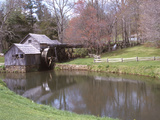Mabry Mill, Blue Ridge Parkway, Virginia, USA Photographic Print by Lynn Seldon