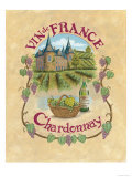 Chardonnay Photographic Print by Elizabeth Garrett