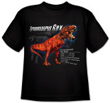Youth: Animal Wildlife - T-Rex T-shirts