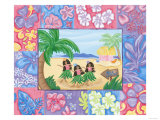 Hula Trio Photographic Print by Emily Duffy