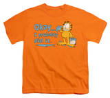Youth: Garfield - I Probably Did It Shirts