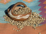 Dried Beans in a Pueblo Indian Pot Photographic Print