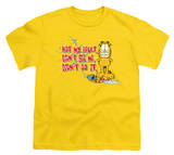 Youth: Garfield - Not My Fault T-shirts