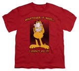 Youth: Garfield - I Didn't Do It! T-shirts