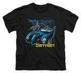 Youth: Batman - Nice Wheels T-shirts