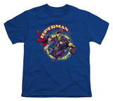 Youth: Superman - Superman vs. Mongol T-Shirt