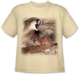Youth: Wildlife-Mountain Lion T-shirts