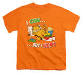 Youth: Garfield - I Can Shirt