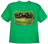 Youth: Animal Wildlife - Frog Shirts