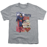 Youth: Superman - Truth, Justice Shirts