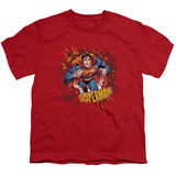 Youth: Superman - Sorry About the Wall T-Shirt
