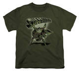 Youth: Superman - Camo Logo T-Shirt