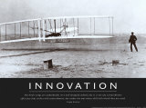 Innovation: Wright Brothers Affiche