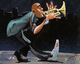 Modern Jazz Step Prints by David Garibaldi