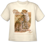 Youth: Animal Wildlife - Cheetah T-Shirt