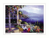 Jewel of the Riviera Print by Sharie Hatchett Bohlmann
