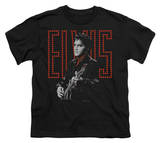 Youth: Elvis - Red Guitarman T-Shirt