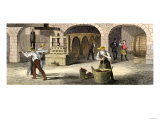 Wine-Press in Longworth's Wine-Cellars, Ohio, c.1850 Giclee Print