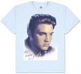 Youth: Elvis - Big Portrait T-shirts
