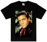 Youth: Elvis - Red Scarf T-Shirt
