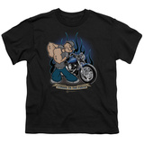 Youth: Popeye - Biker Popeye T-shirts