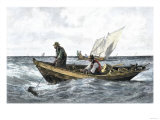 North Atlantic Cod-Fishing in the 1880 Giclee Print