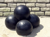 Cannonballs at Fort Moultrie on Sullivan's Island, Charleston Harbor, South Carolina Photographic Print