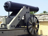 Civil War Cannon at Fort Moultrie Aimed at Fort Sumter in Charleston Harbor, South Carolina Photographic Print