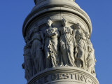 Detail of Victory Monument at Yorktown Battlefield, Virginia Photographic Print