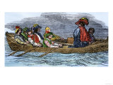 Captain John Smith Exploring the Chesapeake Bay Region Giclee Print